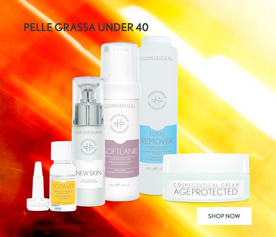 cosmetici per pelli particolarmente grasse