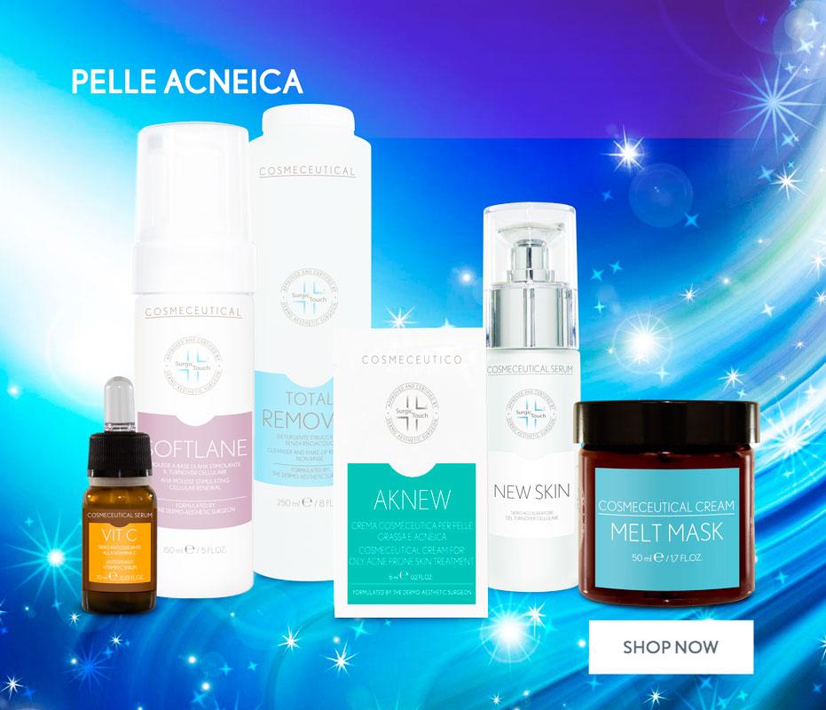 cosmetici per pelle acneica