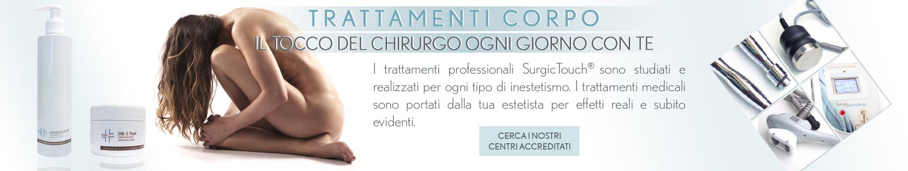 trattamenti cosmetici per il corpo medicina estetica